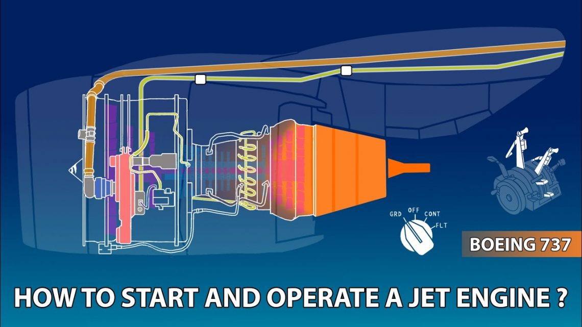 How To Start And Operate A Jet Engine?   Boeing 737