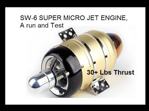 NEW Micro Jet Engine 28-30 lb thrust & AFFORDABLE! 12kg video (info below)