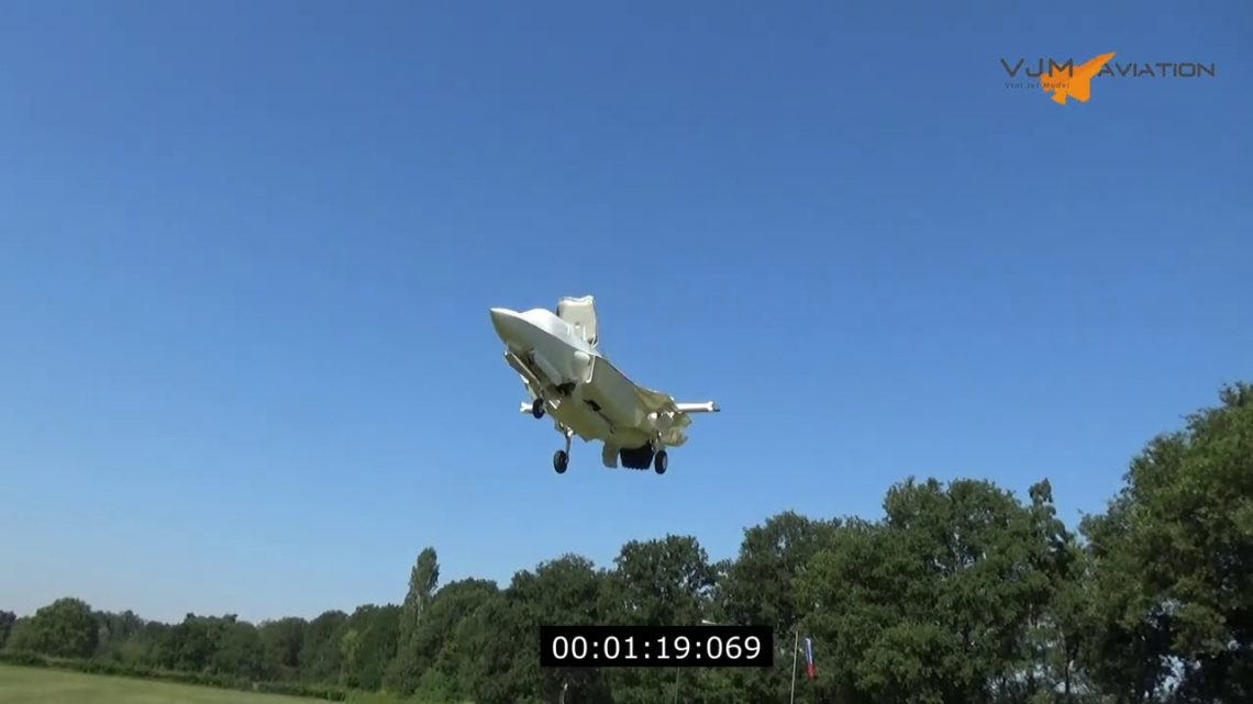 $1000 Electric JET ENGINE   F-35B Rc Model (vertical take off and hover)