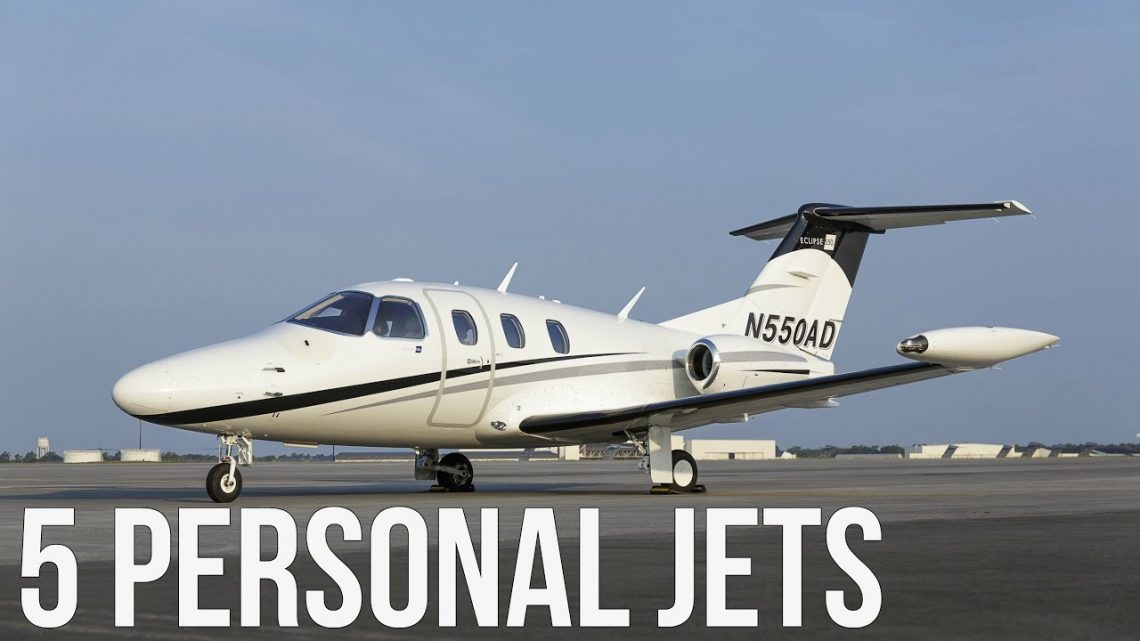 5 Private Jets You Can Buy For Less Than $1,000,000