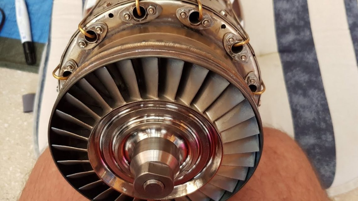 Handmade Jet Engine Almost Finished And First Test