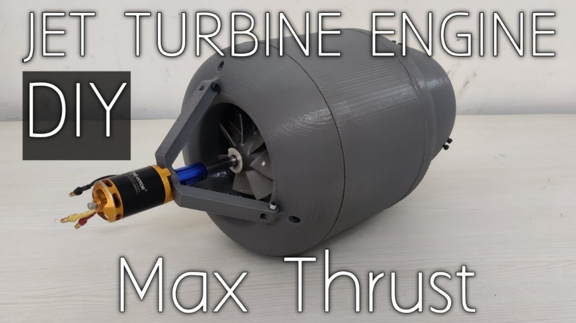 How to make a Mini Jet Engine | 3D Printed | DIY with Max Thrust
