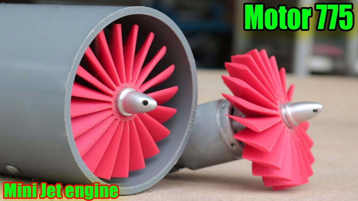 How to make jet engine with 775 engine