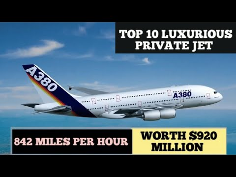 TOP 10 LUXURIOUS PRIVATE JET OF MULTI BILLIONAIRES IN 2021 WORLD'S MOST ICONIC EXPENSIVE PRIVATE JET