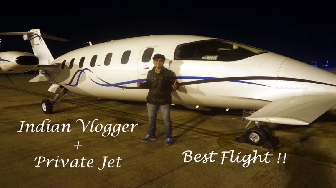 Travelling in PRIVATE JET for FREE !!!   1st INDIAN VLOGGER