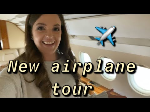 WE GOT A NEW AIRPLANE * PRIVATE JET TOUR * PRIVATE FLIGHT ATTENDANT