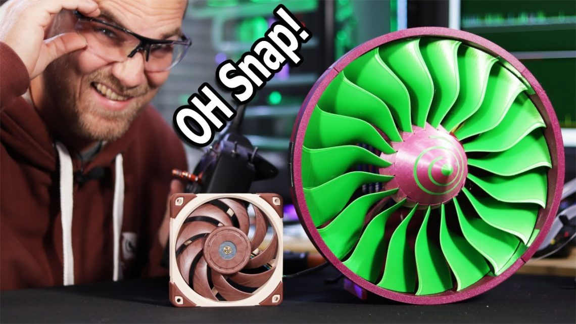 3D Printed Jet  Engine Fan Water Cooling   Labists ET4 Review