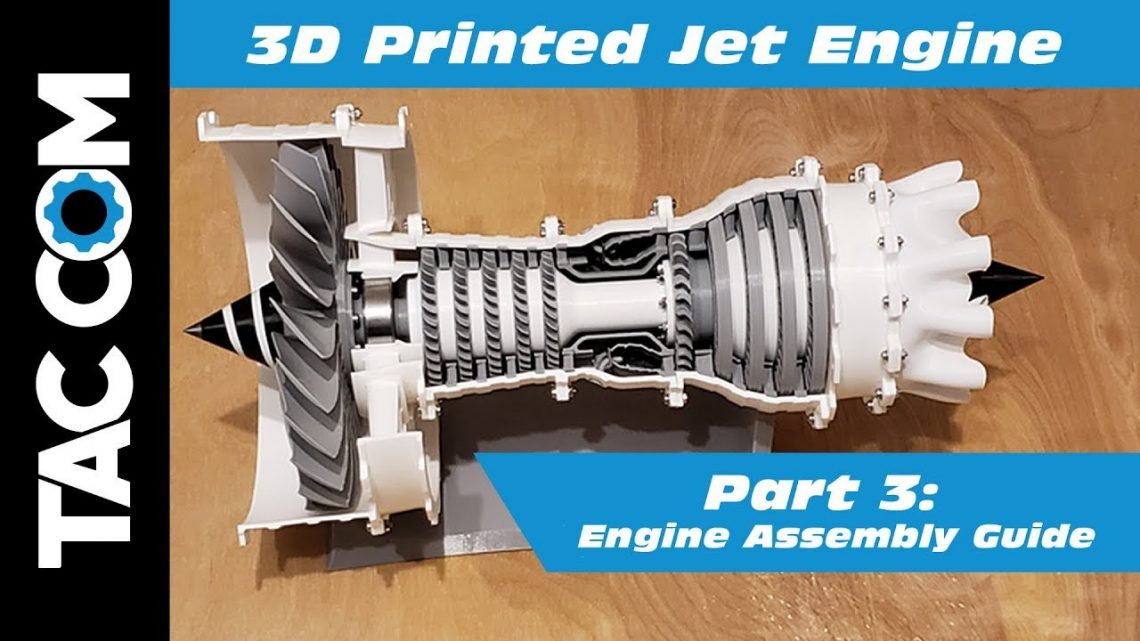 3D Printed Jet Engine – Part 3: Assembly Guide