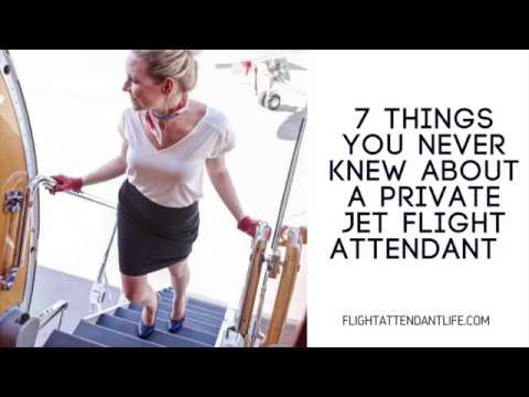 7 Things You Never Knew About Private Jet Flight Attendants