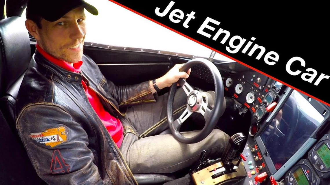 Driving a real bat car!   Jet engine how to and review
