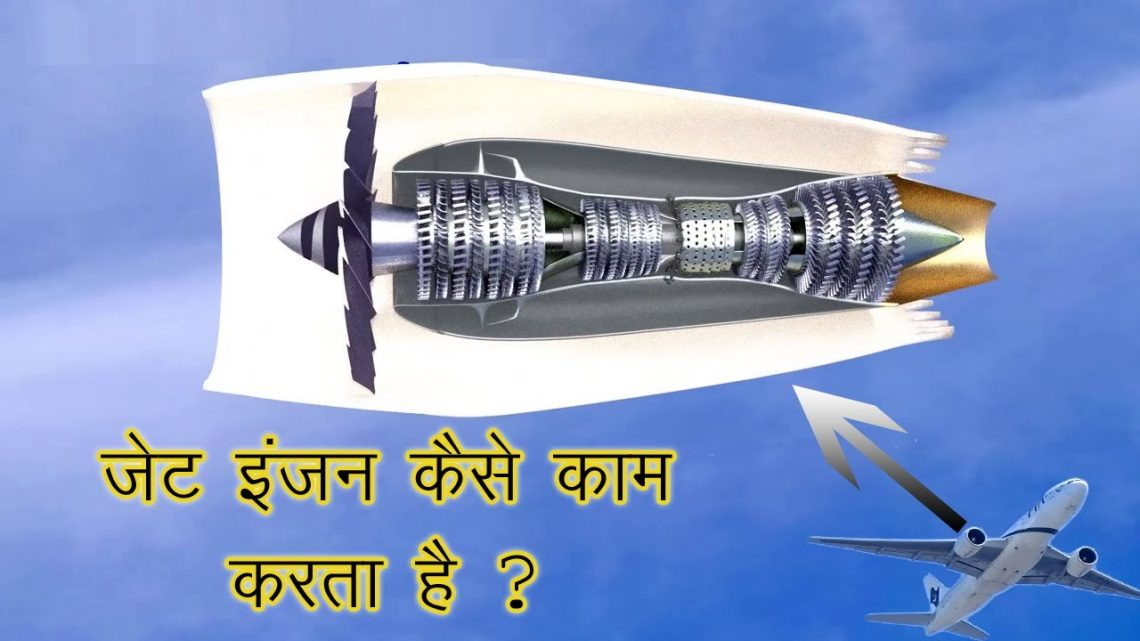 How Jet Engine Works In Hindi || Jet Engine Working In Hindi || Jet Engine Animation