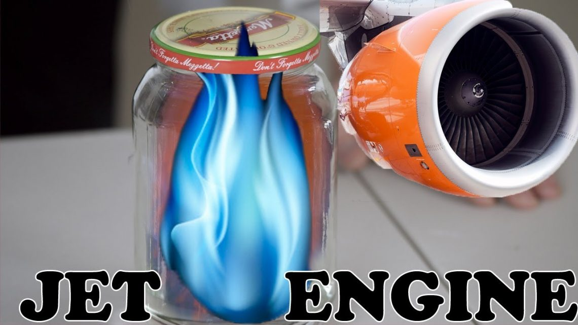 How To Make a Jet Engine In a Jar!! Best DIY Science Experiment Handcraft