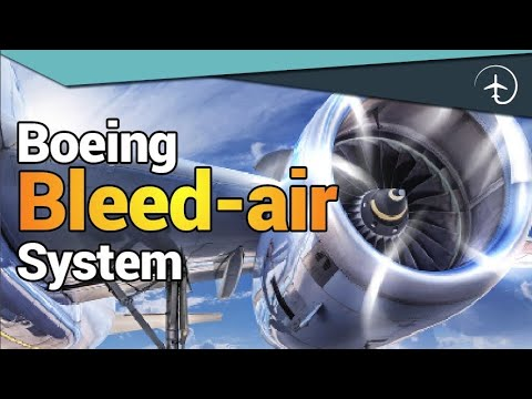 How does the Boeing 737 Bleed-air system work?!