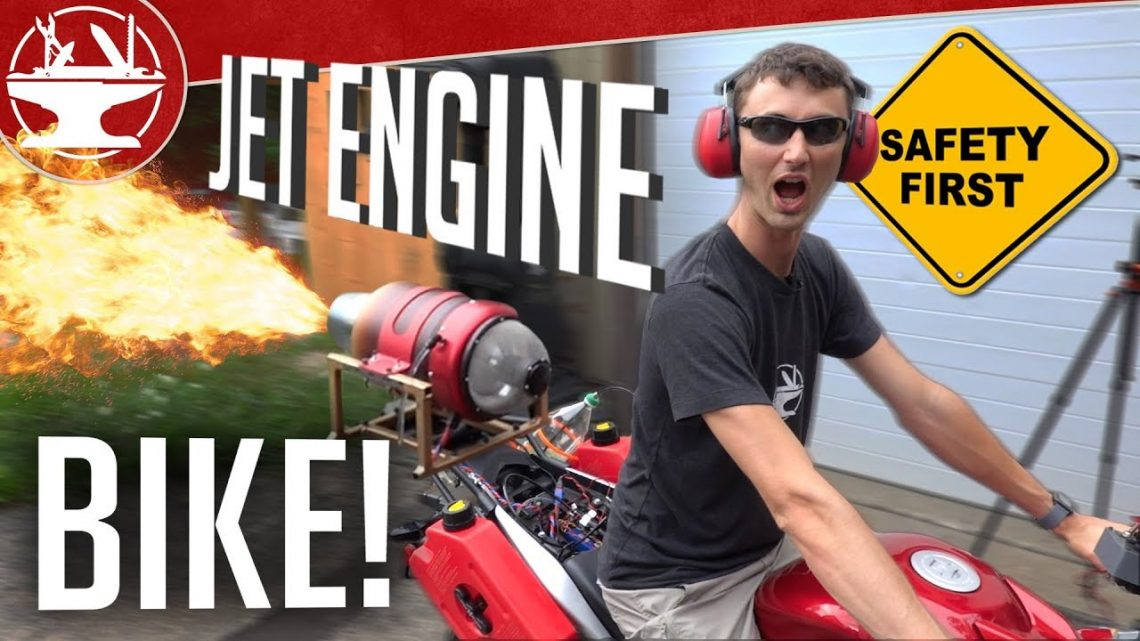 Jet Engine Motorcycle Build (GTA 5 OPPRESSOR IN REAL LIFE???)