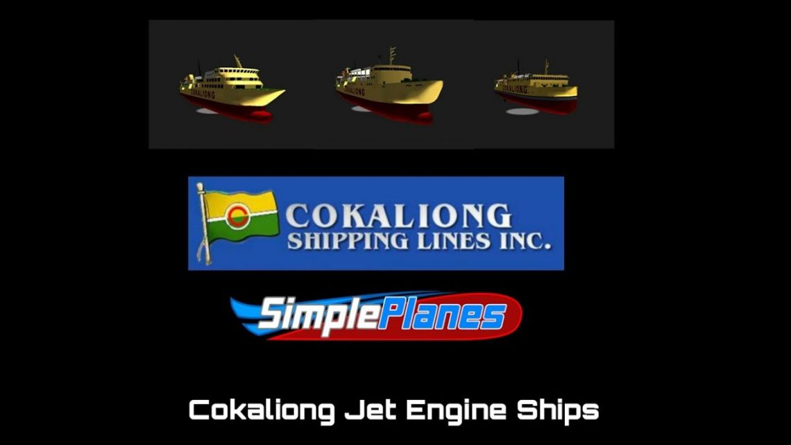My All Modified Cokaliong Jet Engine Ships on Simple planes