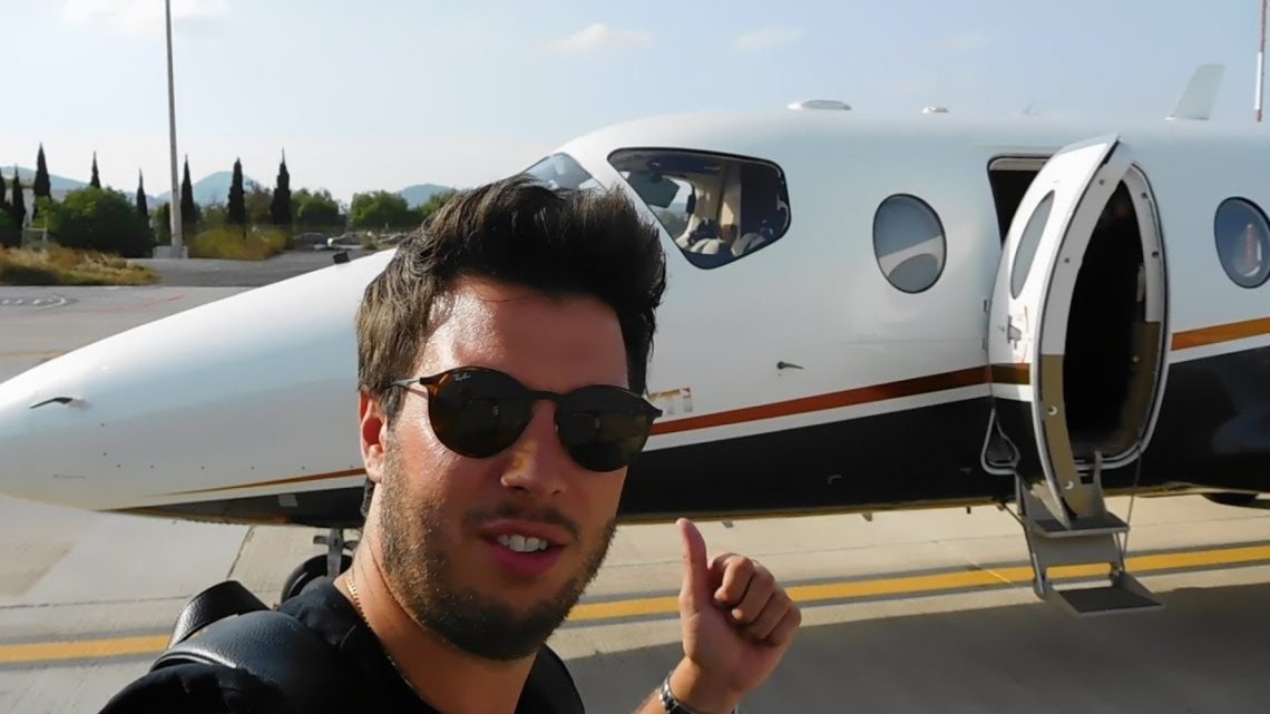 My own private jet to Ibiza with a Pilot interview!