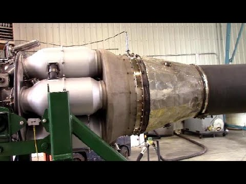 Sabre Jet Engine – Restored and Roaring to Life