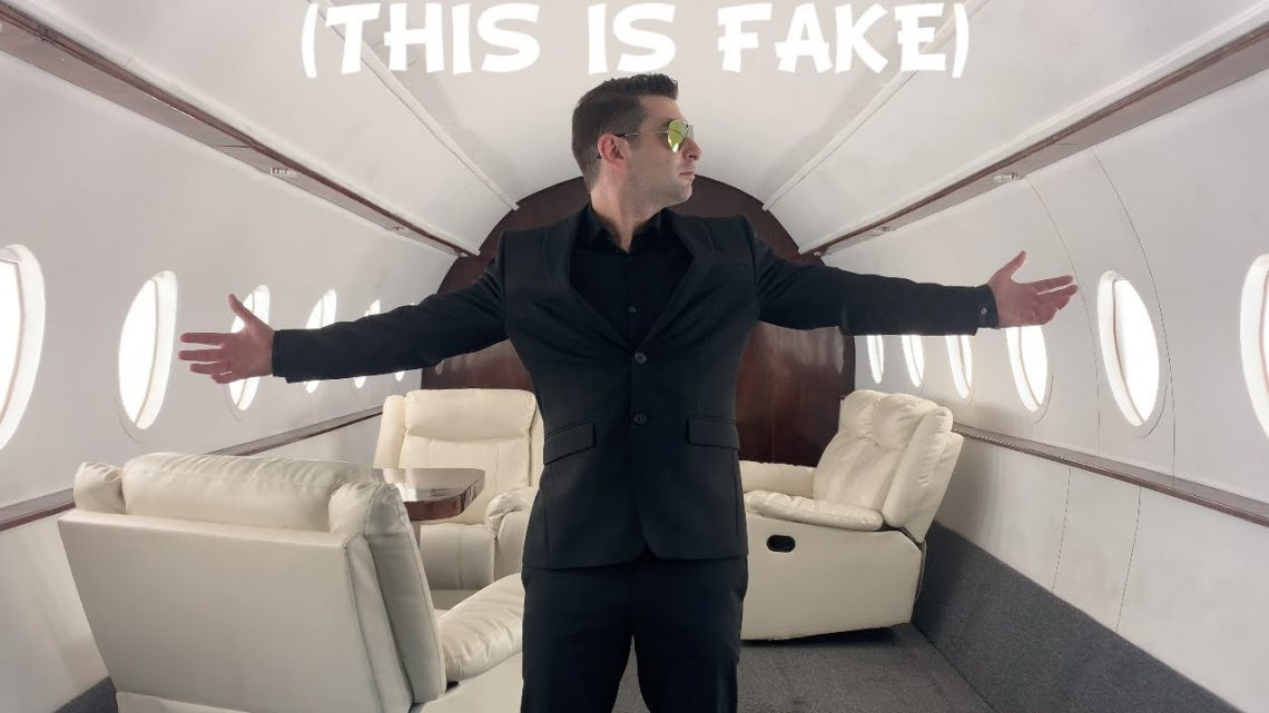 So I Rented the FAKE Private Jet Studio in Los Angeles…