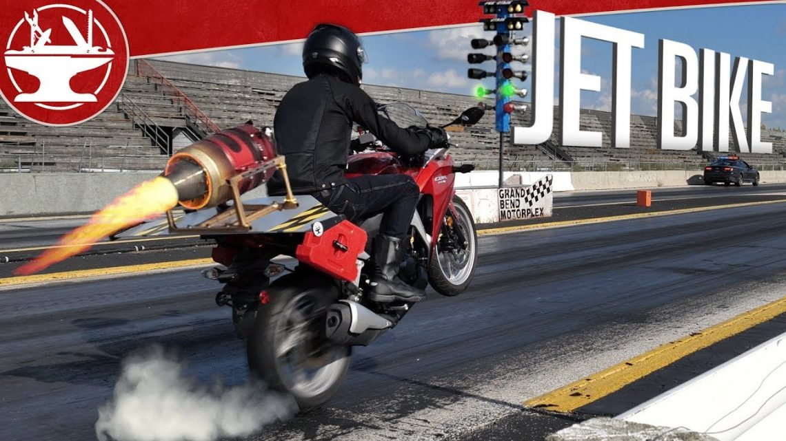 Will a JET ENGINE Motorcycle Set New Records?