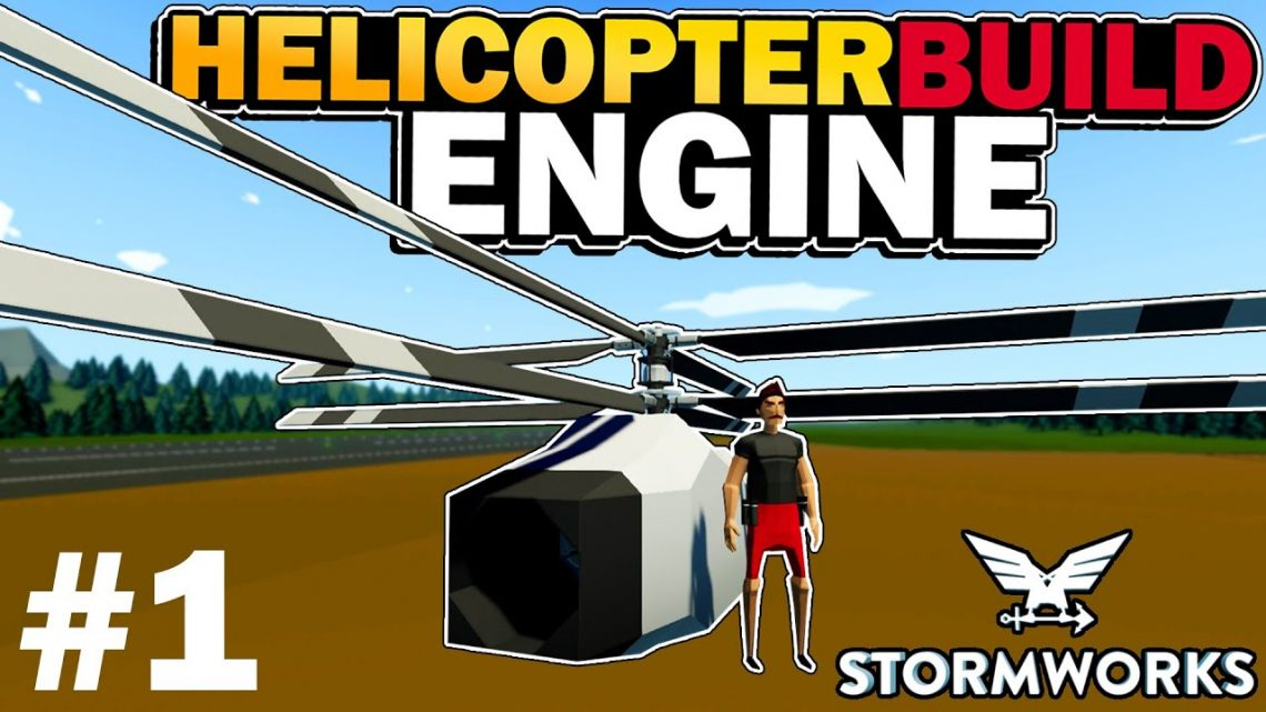 Jet Engine & Propellers!  –  HeliPlane Build  –  Stormworks: Build and Rescue