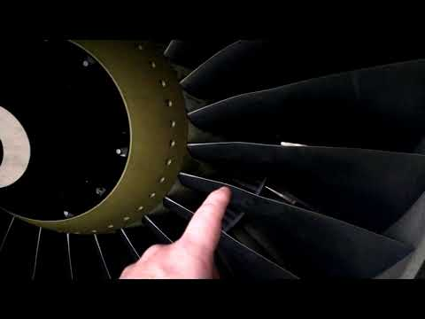 """The """"4 strokes"""" of a jet engine.. Just a teaser."""