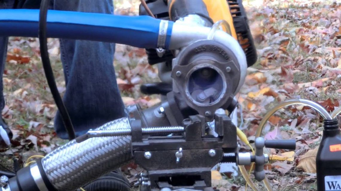 Turbocharger jet engine without a flame tube!
