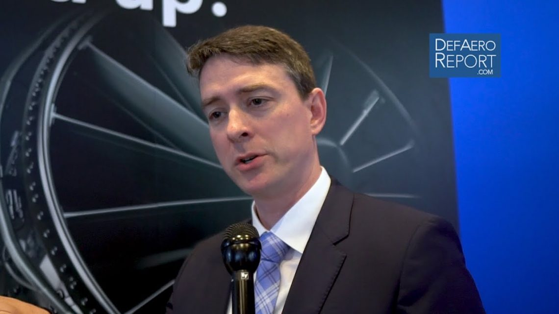 GE's Tweedie on More Powerful, Fuel-Efficient Advanced Jet Engine Technologies for Combat Aircraft