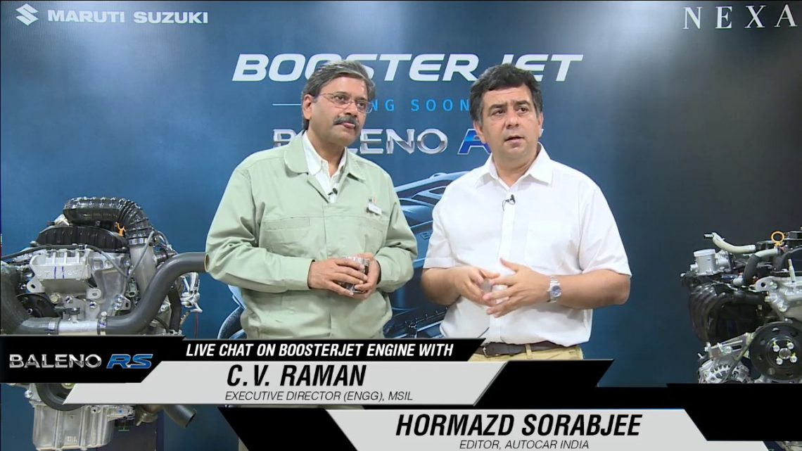 LiveChat on Booster Jet Engine