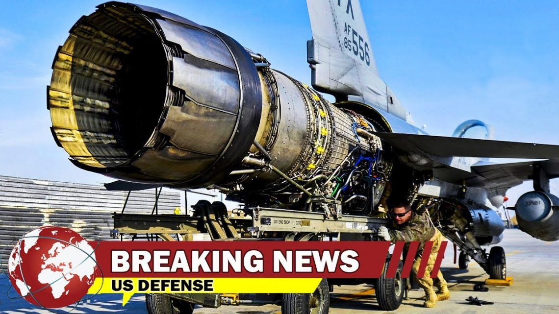 Removing US $ 30 Million Jet Engine to Replace a $ 10 Screw