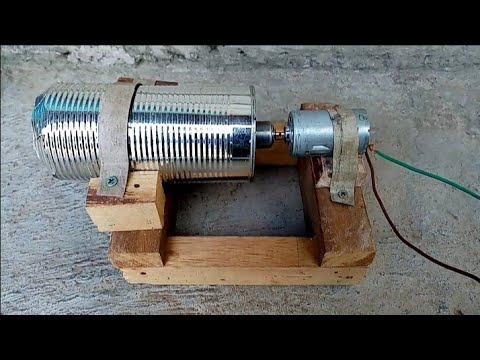diy jet engine using canned